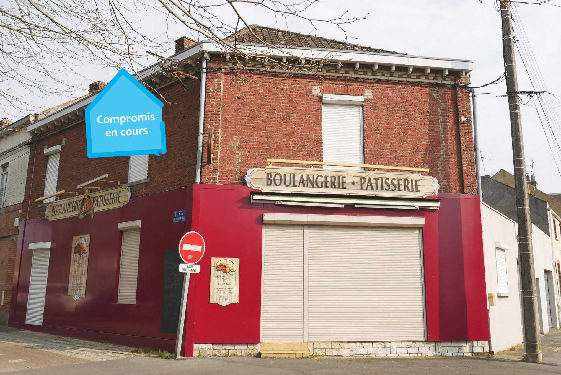 Local + habitation 220 m² à Méricourt 62680