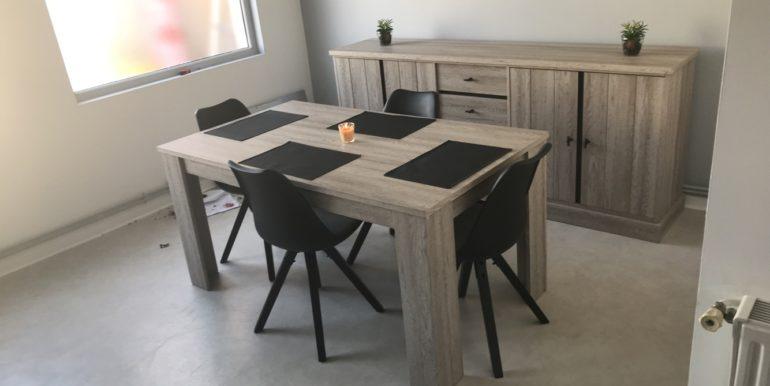 image de coin repas appartement type 2 à louer a mericourt