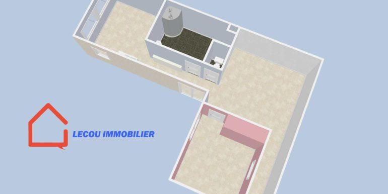 plan 2 appartement à louer à méricourt 62680 lecouimmobilier