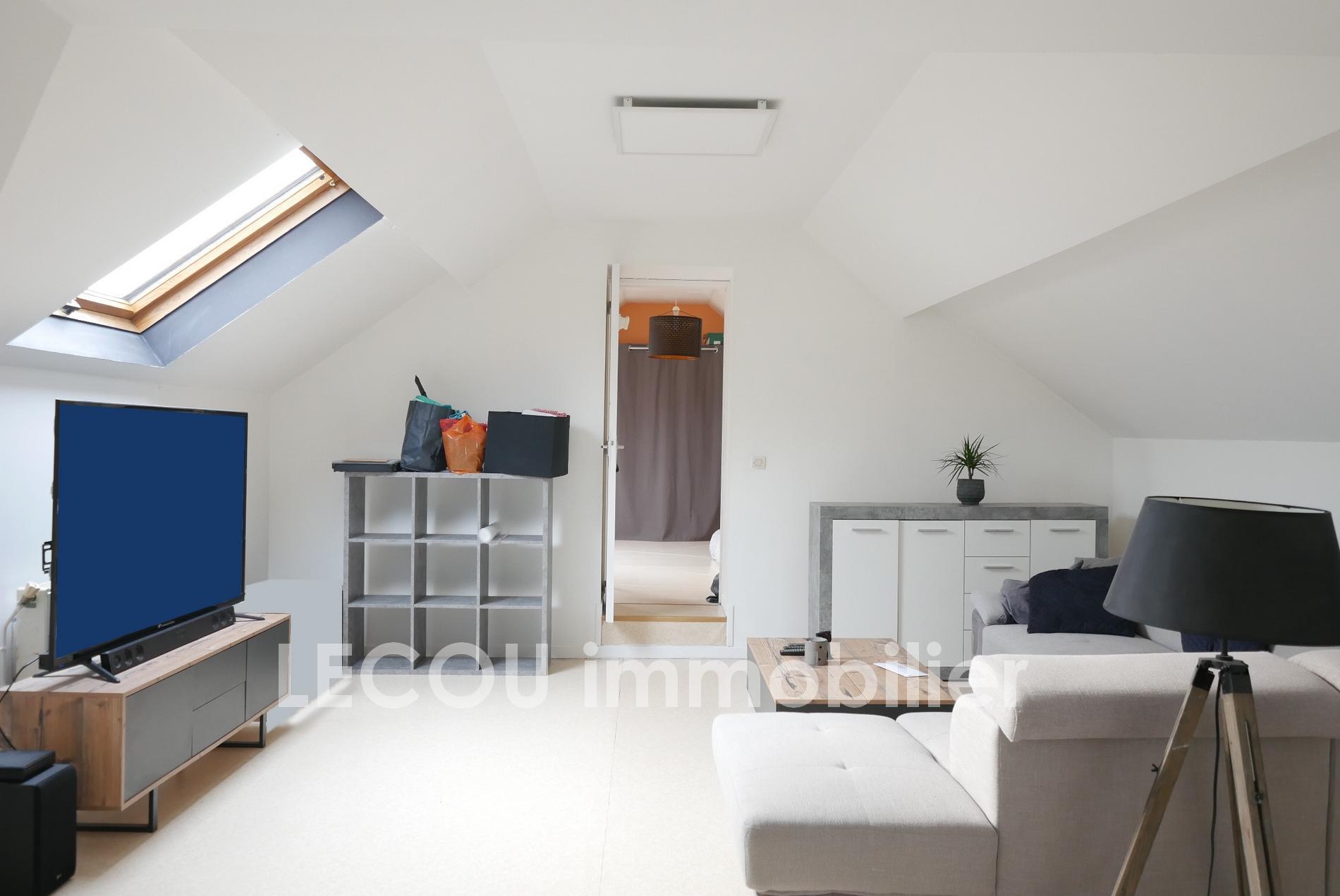 Appartement 55 m² en duplex