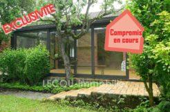 image de jardin et véranda de pavillon individiuel mericourt vitry en artois