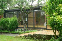 image de jardin et véranda de pavillon individiuel mericourt vitry en artois P1090898